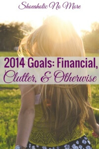 I'm setting 2014 goals! I'm calling them goals instead of resolutions because I have never stuck to resolutions very well. I plan to review them in 2 months