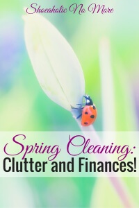 It's springtime, and you know what that means: spring cleaning! Here are tips for decluttering and cleaning up your finances!