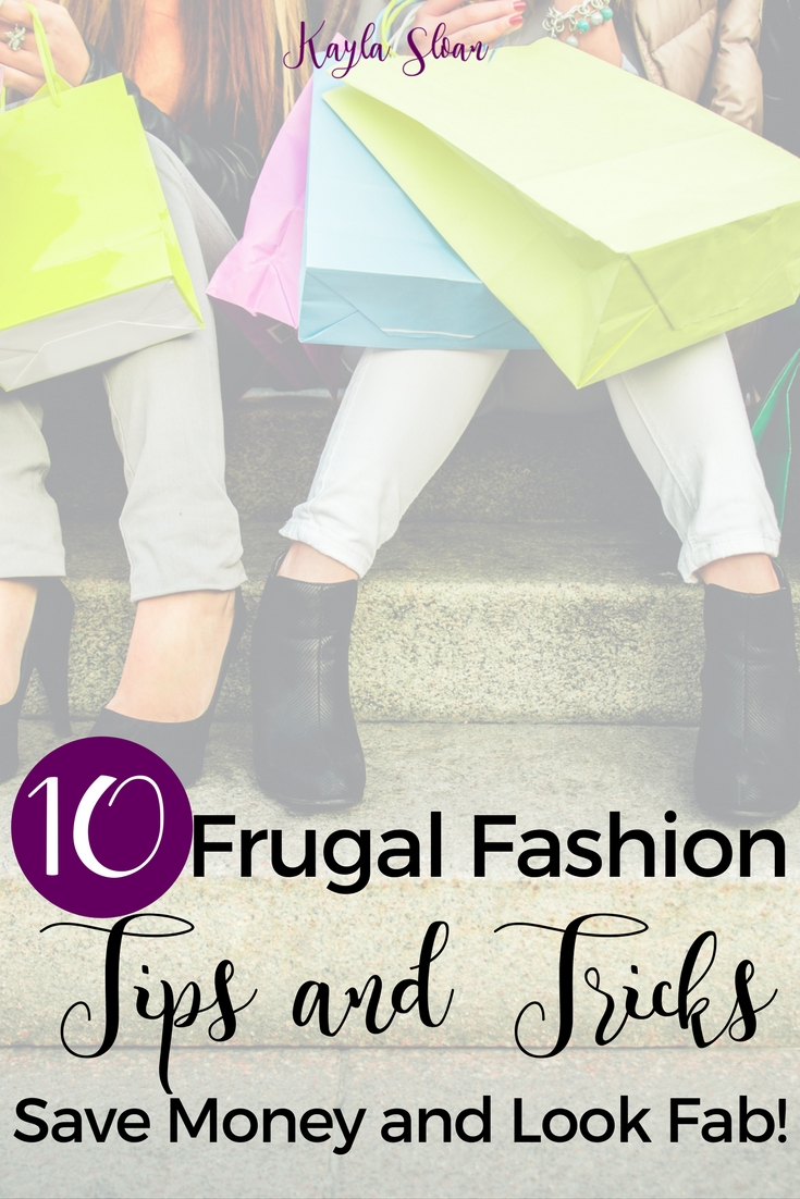 How we look on the outside affects how we feel about ourselves on the inside. Use these frugal fashion tips and tricks to save money and look your best!