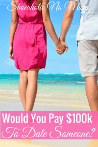 Wow, can you imagine paying 100k for a date? I love that this article shares some date ideas that won't cost you an arm and a leg!