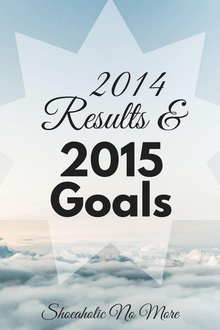 My 2014 Results and 2015 Goals - how ambitious did I get for this year? Check it out here!