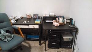 after desk