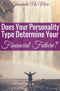 Could your personality type really tell you how you handle finances? Maybe!