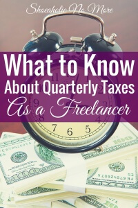 What you need to know about paying quarterly taxes as a freelancer