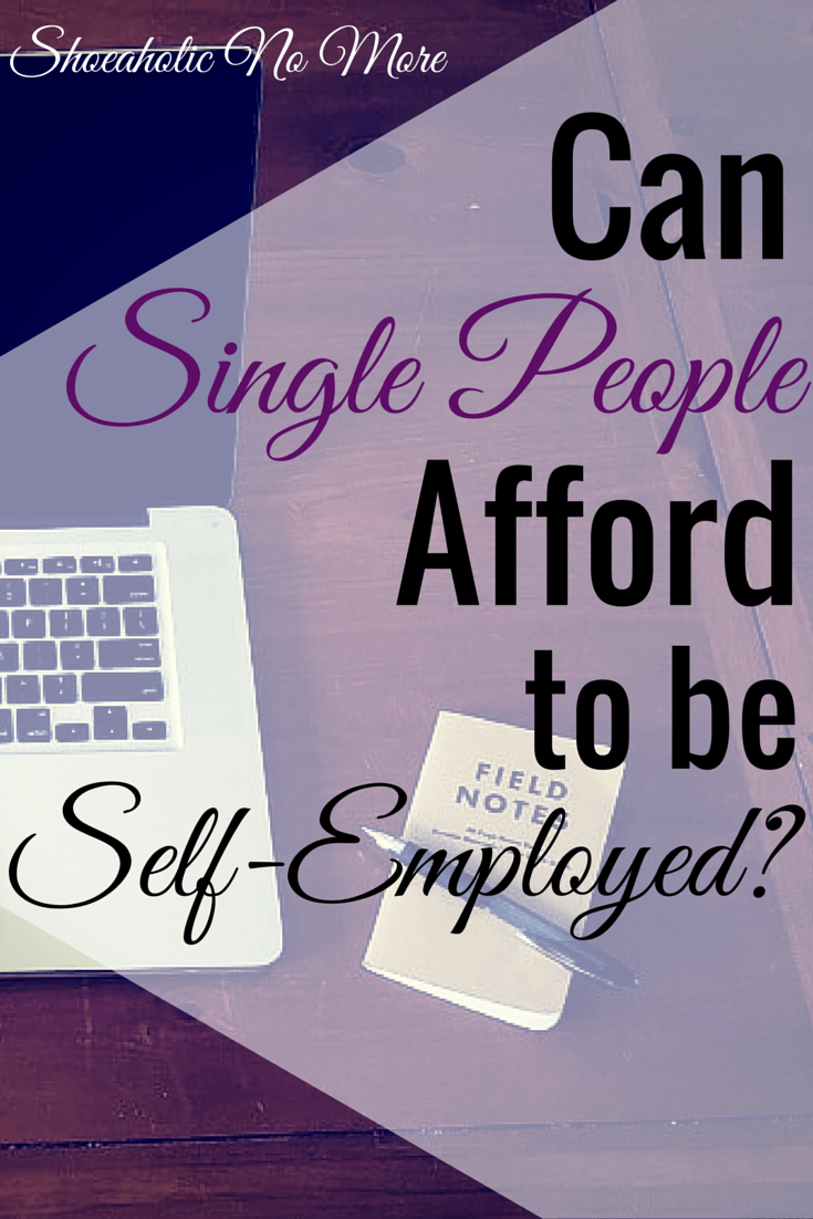 Is it possible to be self-employed without having a partner? My experiences here at @shoeaholicnomore