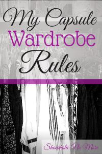 Want to save money yet still have a fabulous wardrobe? Try a capsule wardrobe!