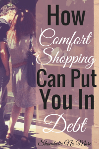 How comfort shopping isn't so comforting. A must read if you cope by shopping! via @shoeaholicnomore