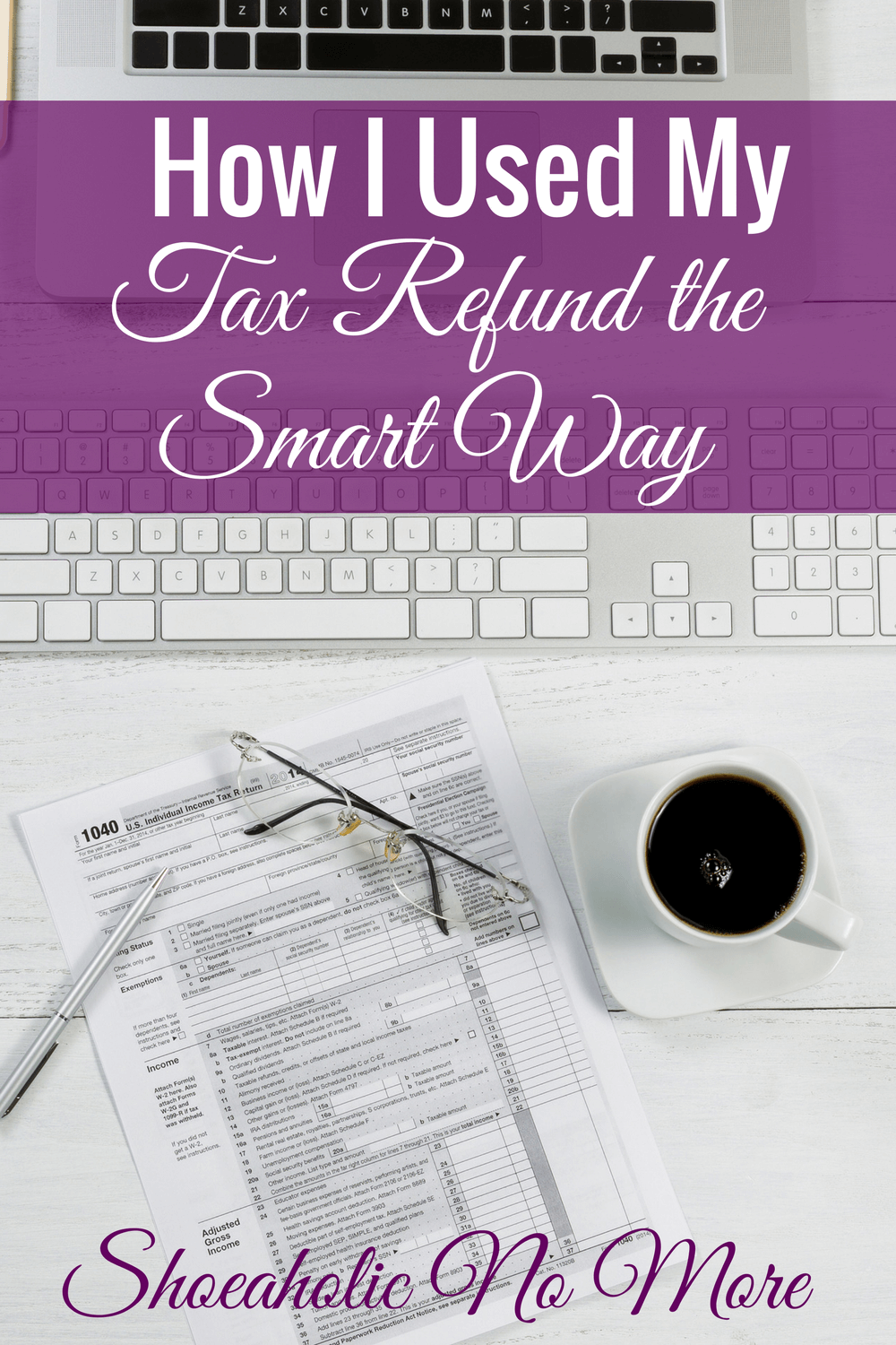 This blogger shows how she spent her refund to start her business and pay off debt!