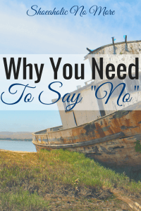 "It's okay to say no now and then. Here are reasons why you need to say ""no"" right now via @shoeaholicnomore"