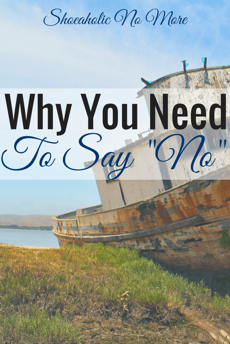 It's okay to say no now and then. Here are reasons why you need to say