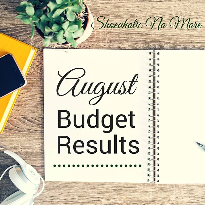 Curious to see how I did on last month's budget? Check out my August 2015 budget results update! via @shoeaholicnomore