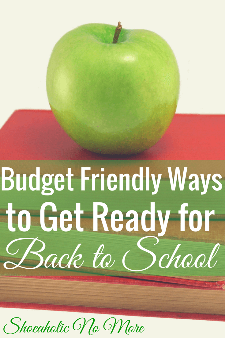 Going back to school doesn't have to cost a lot of money! Here are several budget-friendly ways to get ready to go back to school! via @shoeaholicnomore
