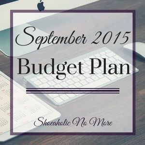 One of my first months as a full-time self-employed entrepreneur! Check out my September budget plan via @shoeaholicnomore
