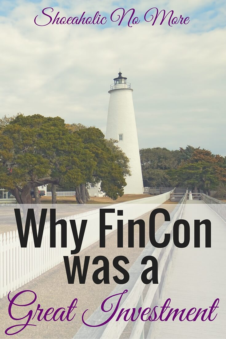 FinCon2015 in North Carolina was amazing! Why it's such a great investment, especially for solopreneurs and side hustlers, here via @shoeaholicnomore