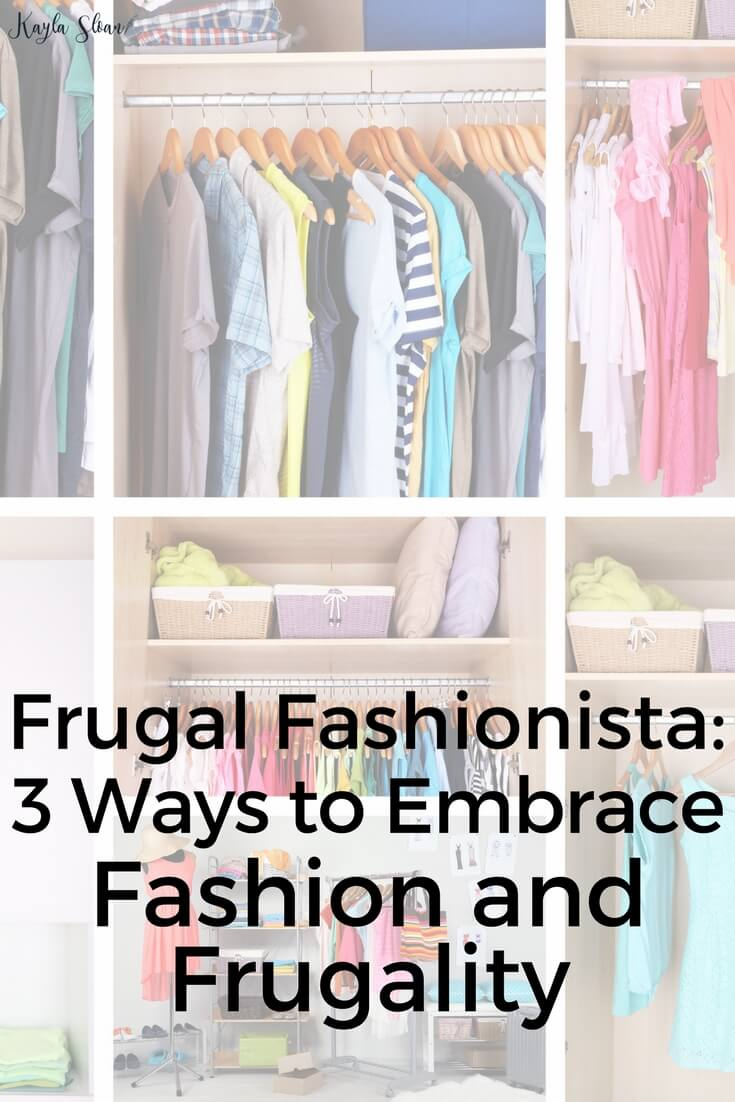 It is possible to love fashion and frugality. Here are three simple ways to make sure you balance your love of fashion and finances.