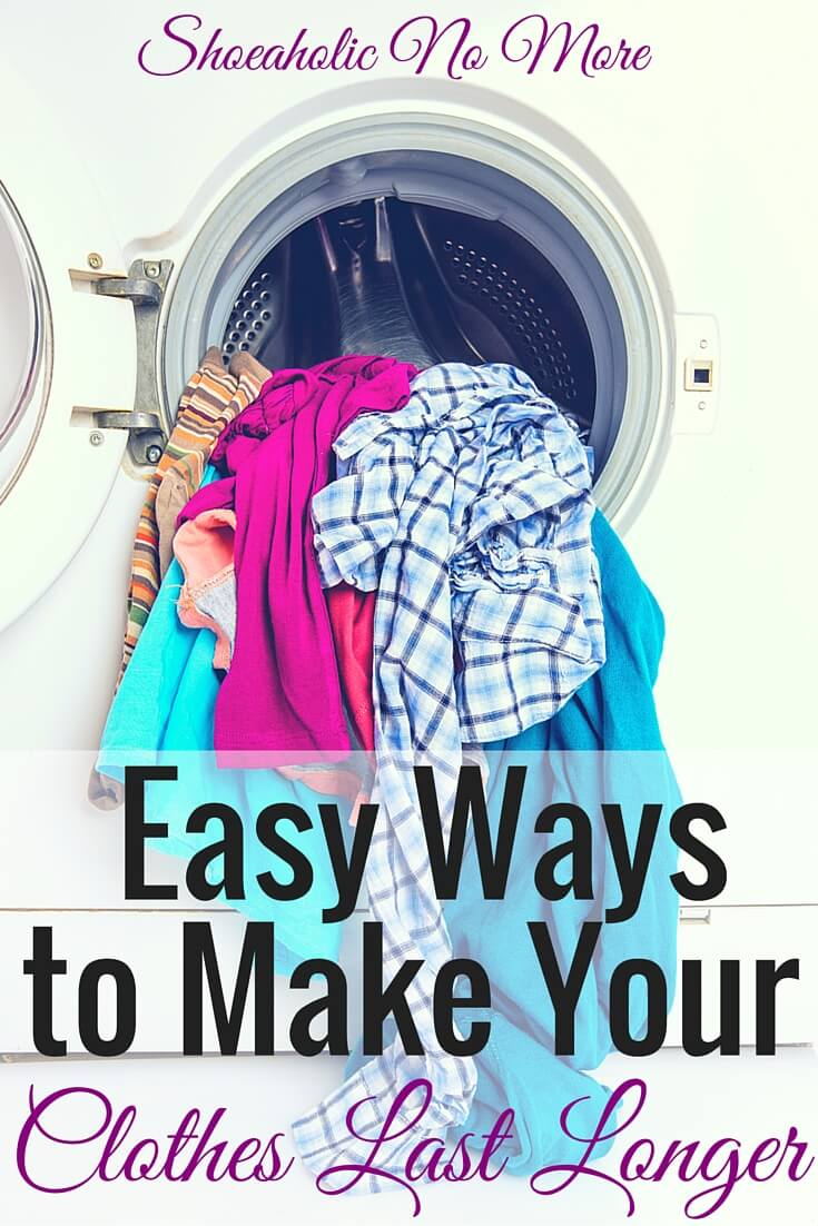 Did you know you can make your clothes last longer? You can, and it doesn't even have to take you much time! How to make your clothes last longer, the easy way!