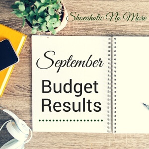 My September budget results are live! Did I stick to my budget, or was I way off this month? Check it out @shoeaholicnomore!