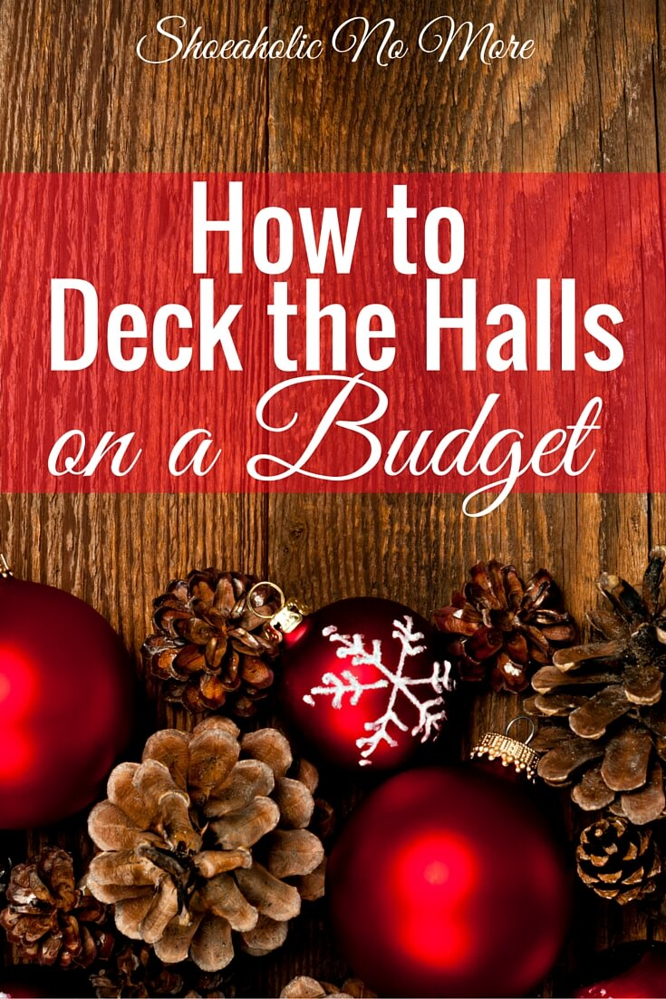 Decorating for the holidays? You don't need to break the bank for cute decor! How to decorate your house for the holidays on a budget.