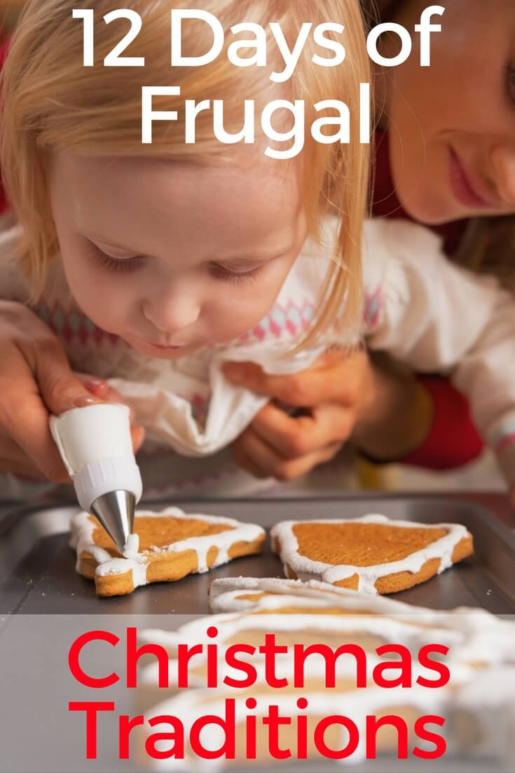 Whether you have little ones of your own or not, here are 12 days of frugal Christmas traditions that any family can enjoy on a budget.