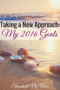 In 2016, I'm revamping my budget goals based on my progress this year. What are your goals in 2016?