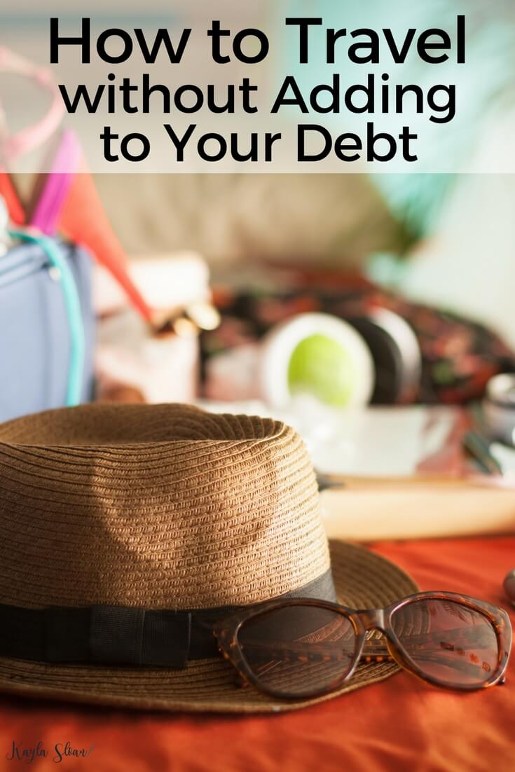 It's ok to find a balance between paying off debt and traveling. Here are a few of my tips for how to travel even though you still have debt to pay off.