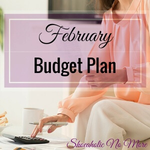 My February 2016 Budget Plan - what's your budget look like for this month?