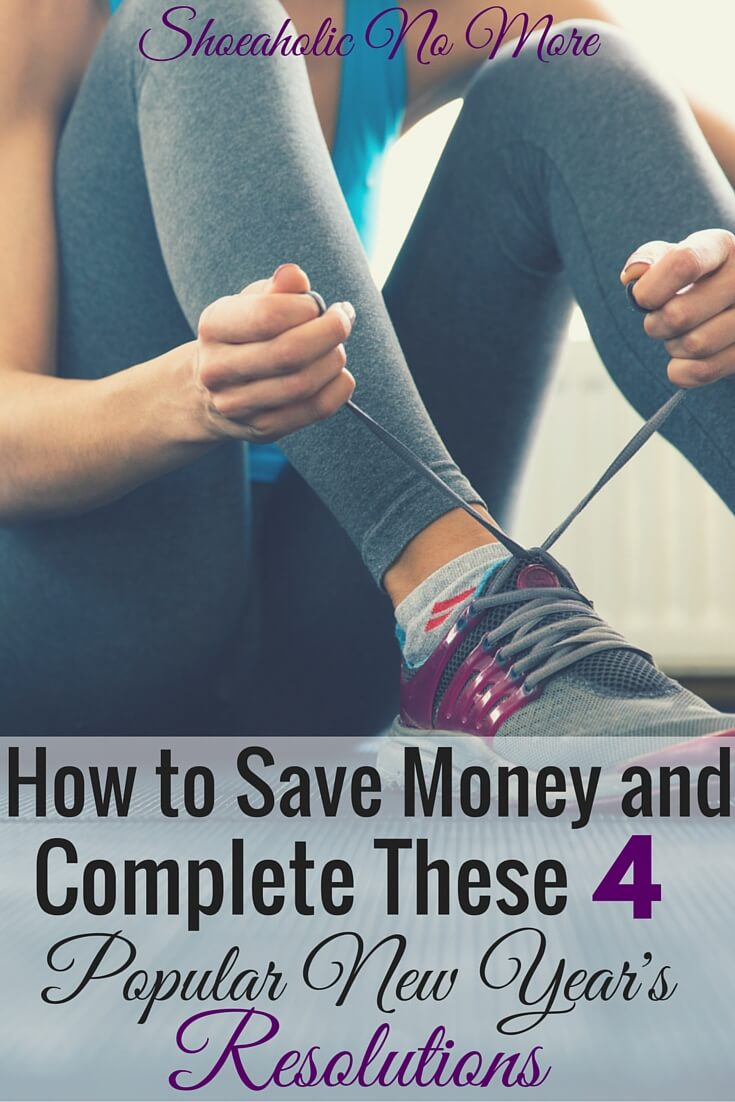 New year's resolutions making you feel stressed? How to succeed at your resolutions and save money!