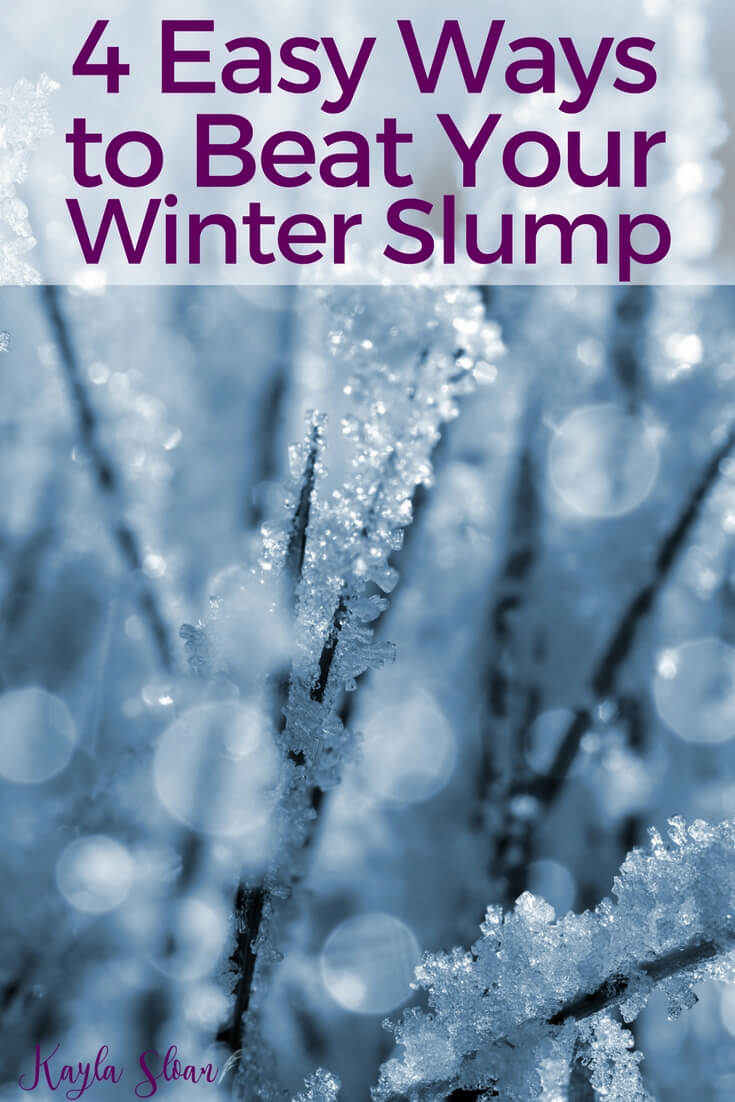 Don't let your winter slump hold you back from accomplishing your goals for the new year. Use these tips to beat your winter slump once and for all!