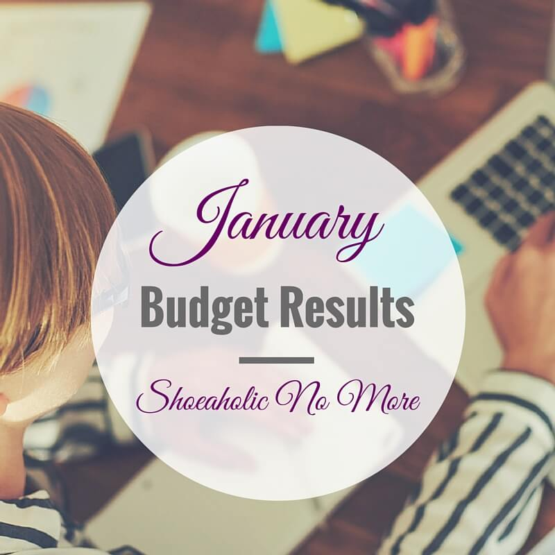 New year, new budget! My January 2016 budget results - check out how I did this month!