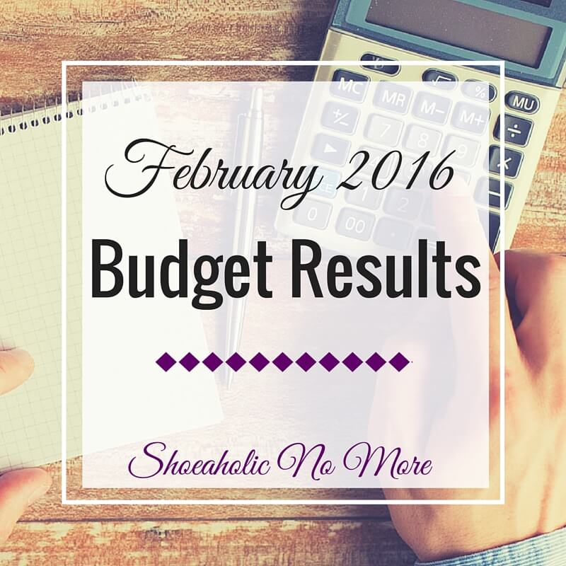 How did my February budget go? Actually, pretty well! Check out my results recap here!