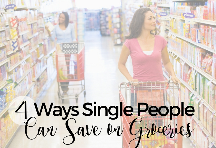 4 Ways Single People Can Save on Groceries
