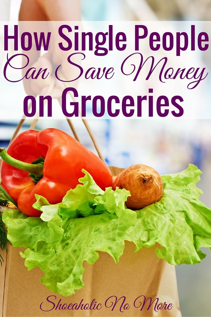 Think you can't save money on groceries as a single person? Think again! Here are some ways single people can save on groceries.