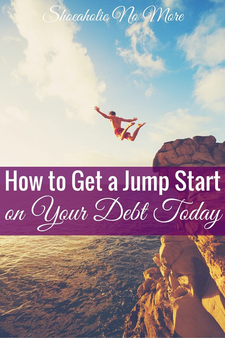 Drowning in debt? Here's how you can get a jump start on your debt today!