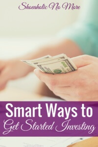 Interesting in investing but don't know where to start? Here are several smart ways to get started investing!