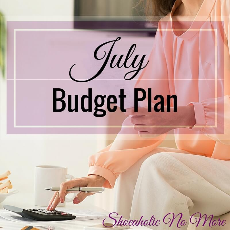 Want to know how I budget as a freelancer? Here's my July budget plan!