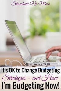 Think you have to be married to one budgeting strategy forever? Not true! Budgeting strategies change as life changes - here's how Kayla is budgeting now and what you can take away from her strategies!