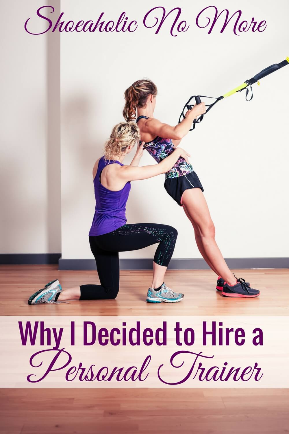 Maybe hiring a personal trainer is worth the cost after all. I love why this woman decided to hire a personal trainer!