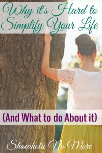 Check this out! It really helped me simplify my life. Maybe you can simplify your life too!