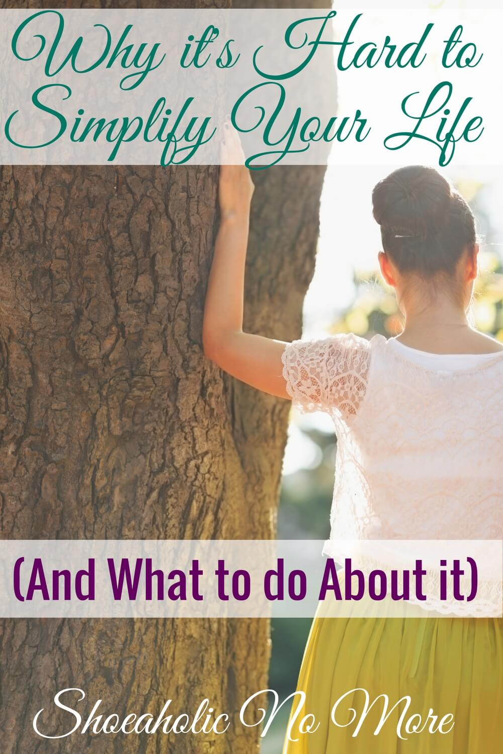 Check this out! It really helped me with simplifying my life. Maybe you can simplify your life too!