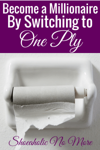 Can switching to one ply toilet paper to save money really make you a millionaire? Find out if frugality really is the answer to getting ahead financially.