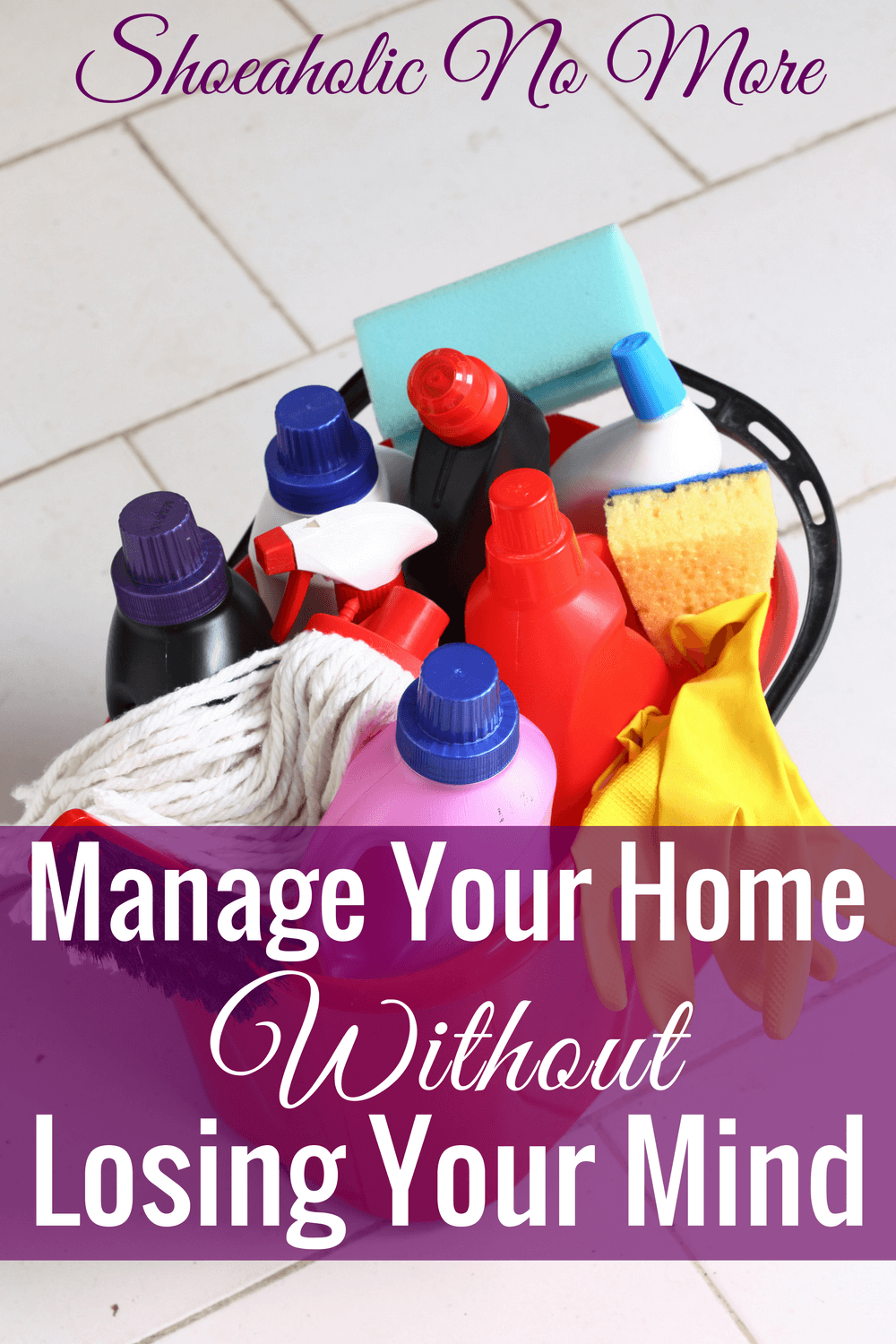 Is your home cluttered and driving you crazy? You might need to read Dana White's helpful new book, How to Manage Your Home Without Losing Your Mind.