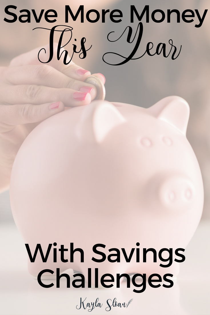 You don't have to wait until the new year to get started with these challenges. Savings challenges can help you make saving money a life-long habit.