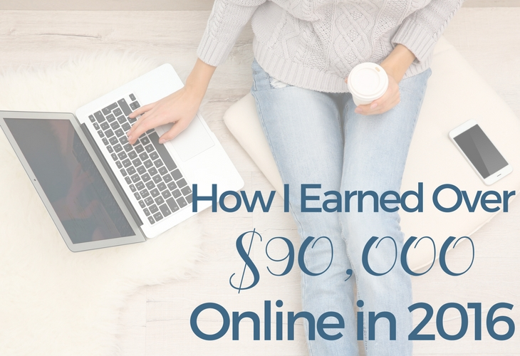 Earned Over $90,000 Online