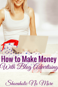 There are several different types of advertising that bloggers can use to make money. Here's how I make money with advertising.