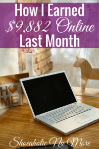 Last month I earned almost $10K with my blog and online business. Here's how.