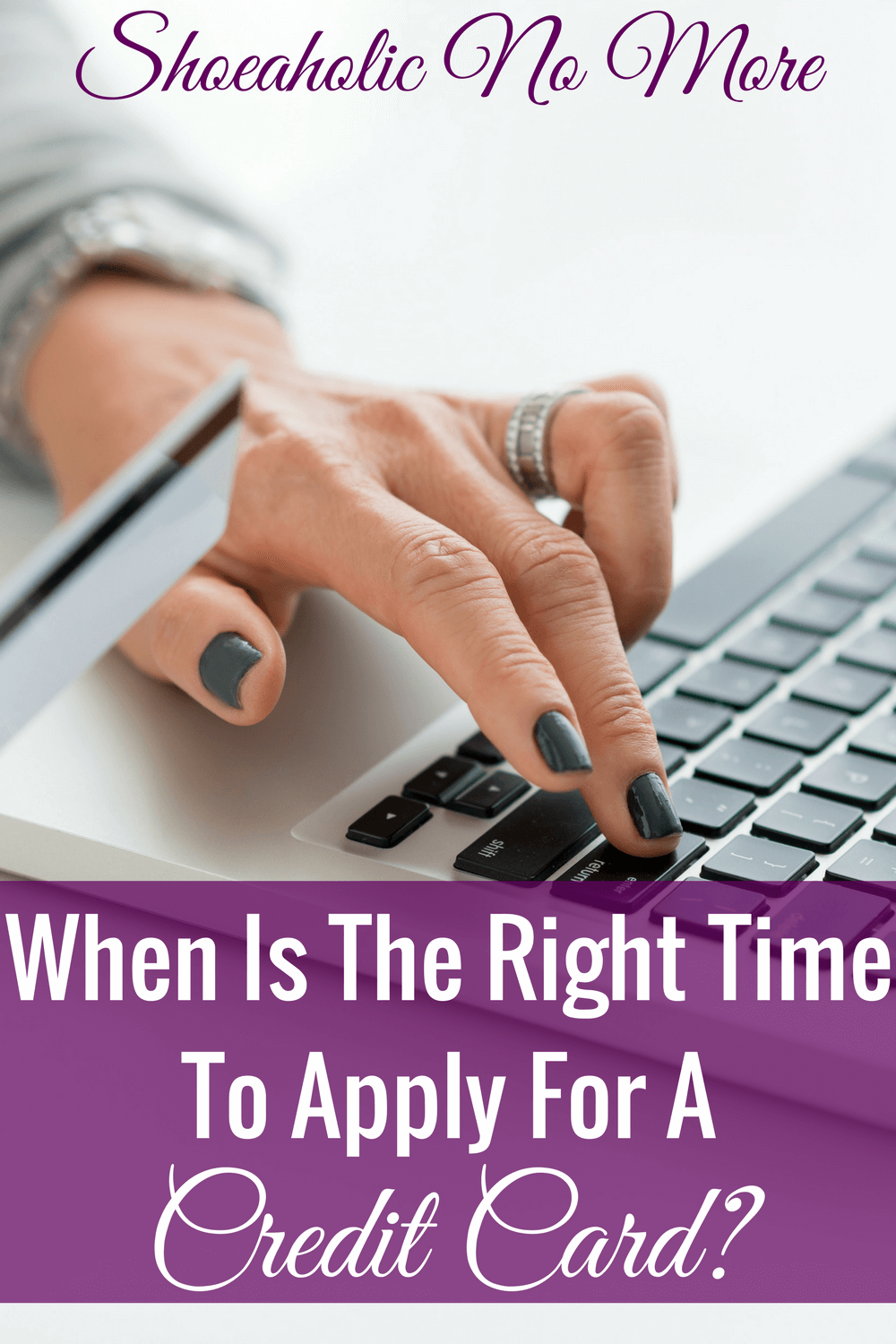 Should you apply to get a new credit card? This blogger shares her feelings on credit cards, and why they may not be so bad!