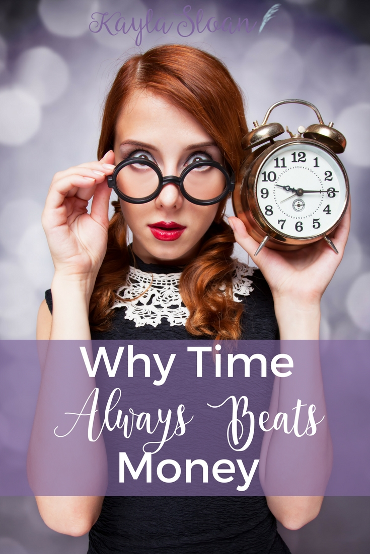 I finally realized money isn't the most important thing in life. Time is. Here's how I'm putting more value on my time instead of being all about the money.