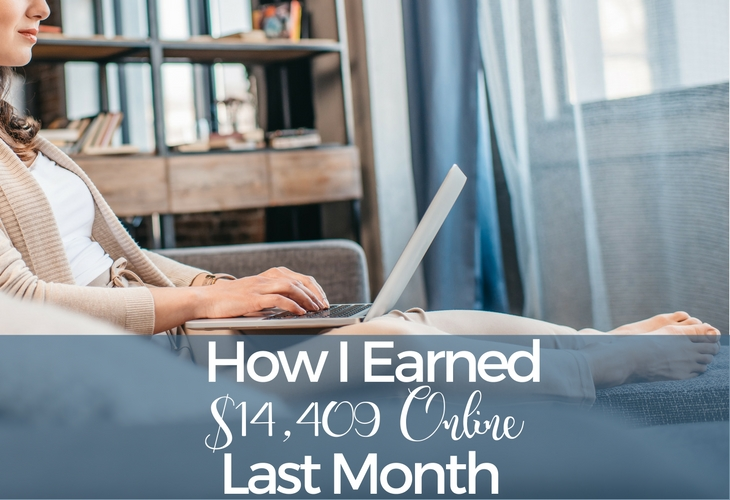 Learn how I earned over $14,000 online last month. Plus, you can enter to win a $20 Amazon gift card just for being an awesome part of my community!