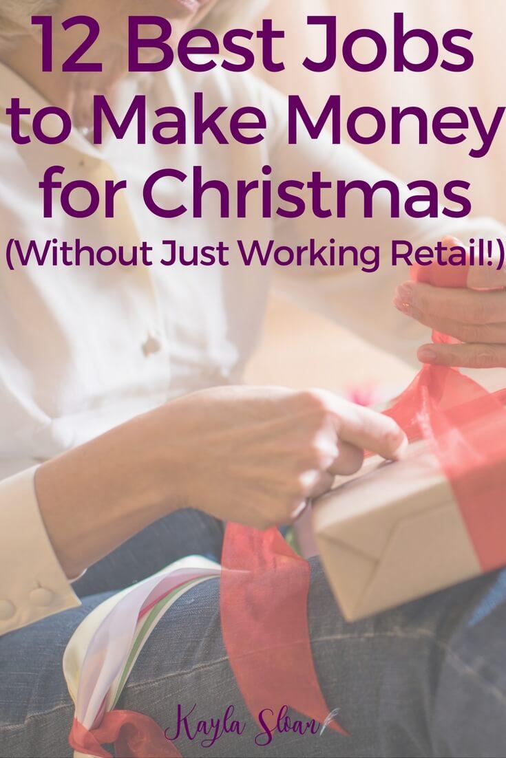 12 Best Seasonal Jobs to Make Money for Christmas