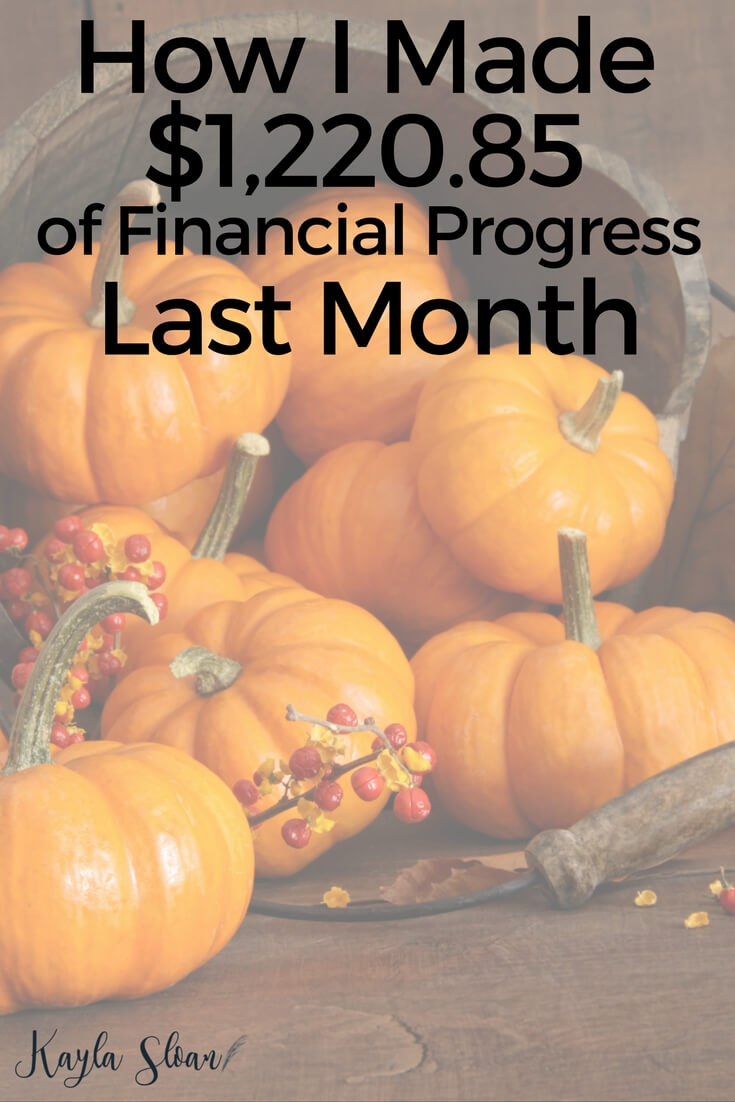 I paid off and save a combined total of over $1,200 last month. Find out how I did it and what my plans are for December.